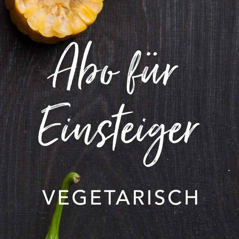 Abo für Einsteiger vegetarisch