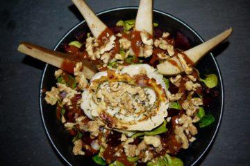Salatrezept mit Birnen und Smoothie Snacks