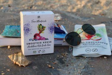 Smoothie Snacks und Fertigsuppen für Reisen